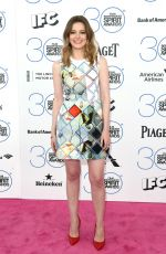 GILLIAN JACOBS at 2015 Film Independent Spirit Awards in Santa Monica