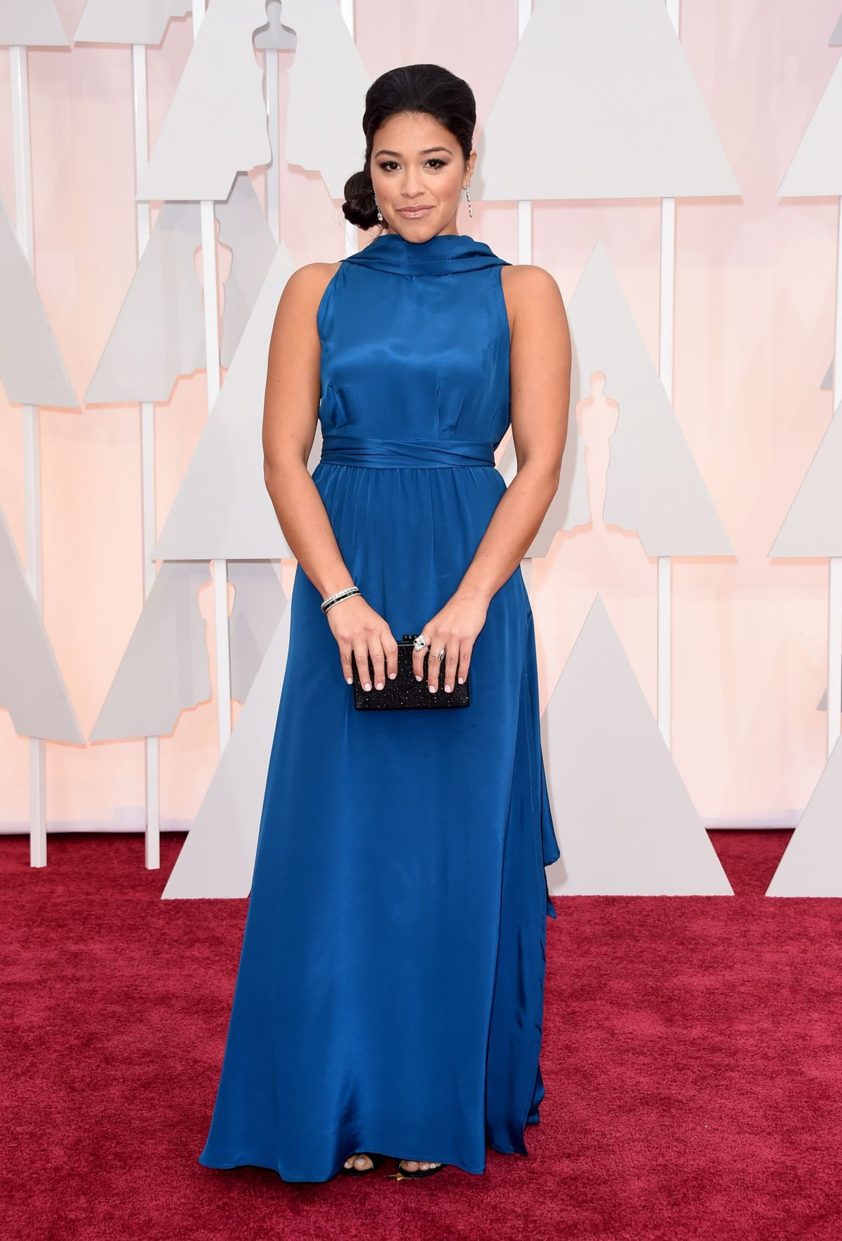 GINA RODRIGUEZ at 87th Annual Academy Awards at the Dolby Theatre in Hollywood