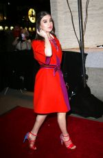 HAILEE STEINFELD at Fendi New York Flagship Boutique Party at MBFW in New York