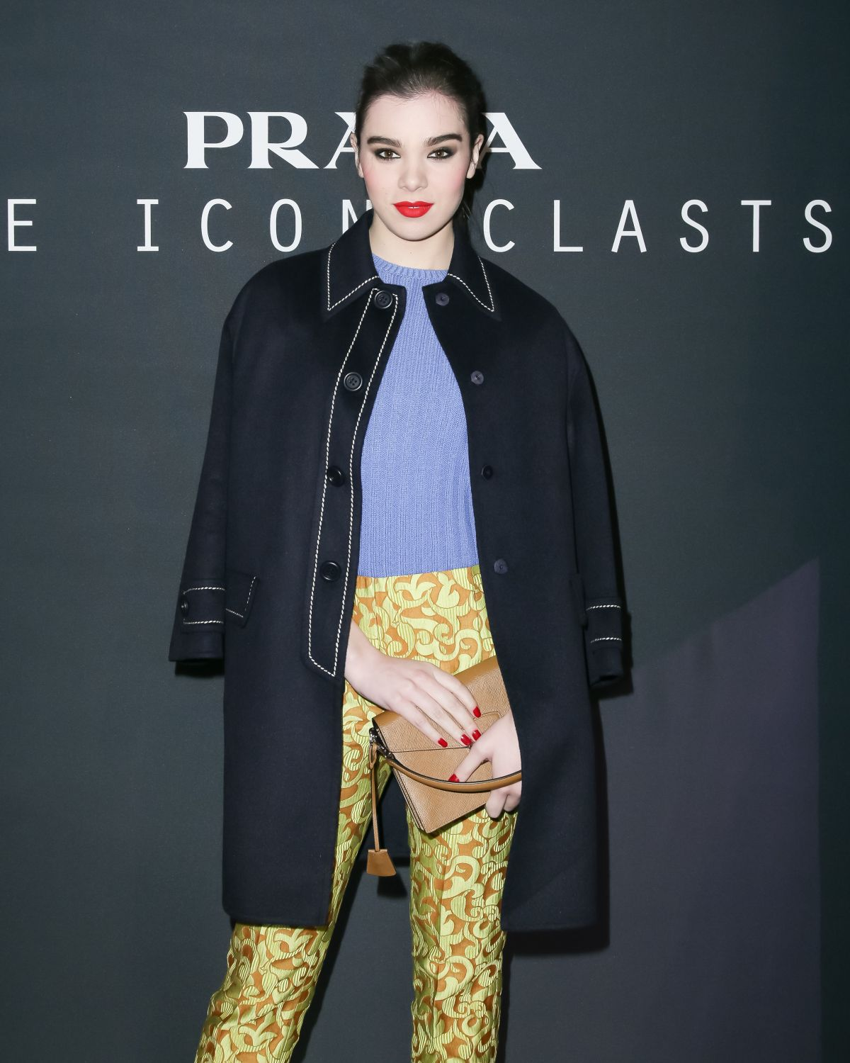 HAILEE STEINFELD at Prada Presents The Iconoclasts in New York