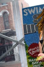 HANNAH DAVIS at 2015 SI Swimsuit's Swimville Takes over Nashville