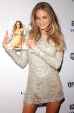 HANNAH DAVIS at 2015 Sports Illustrated Swimsuit Issue Celebration in New York