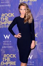 HANNAH DAVIS at W Hotels Kicks Off of Rock the Empire Tour in New York