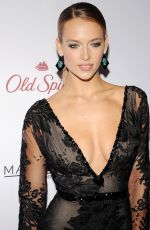 HANNAH FERGUSON at 2015 Sports Illustrated Swimsuit Issue Celebration in New York