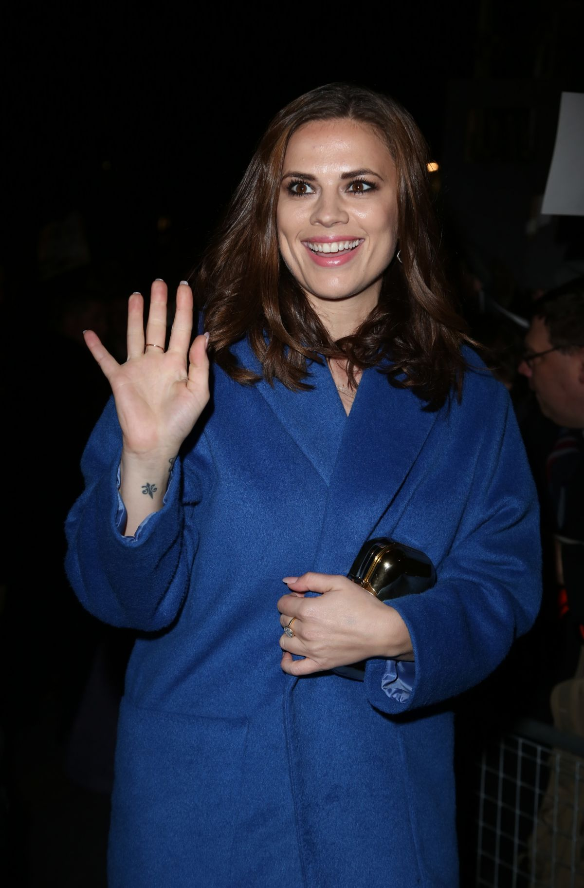 HAYLEY ATWELL at Charles Finch and Chanel Pre-bafta Party in London