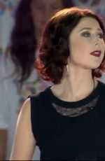 HAYLEY WESTENRA at 2015 Cricket World Cup Opening in Christchurch