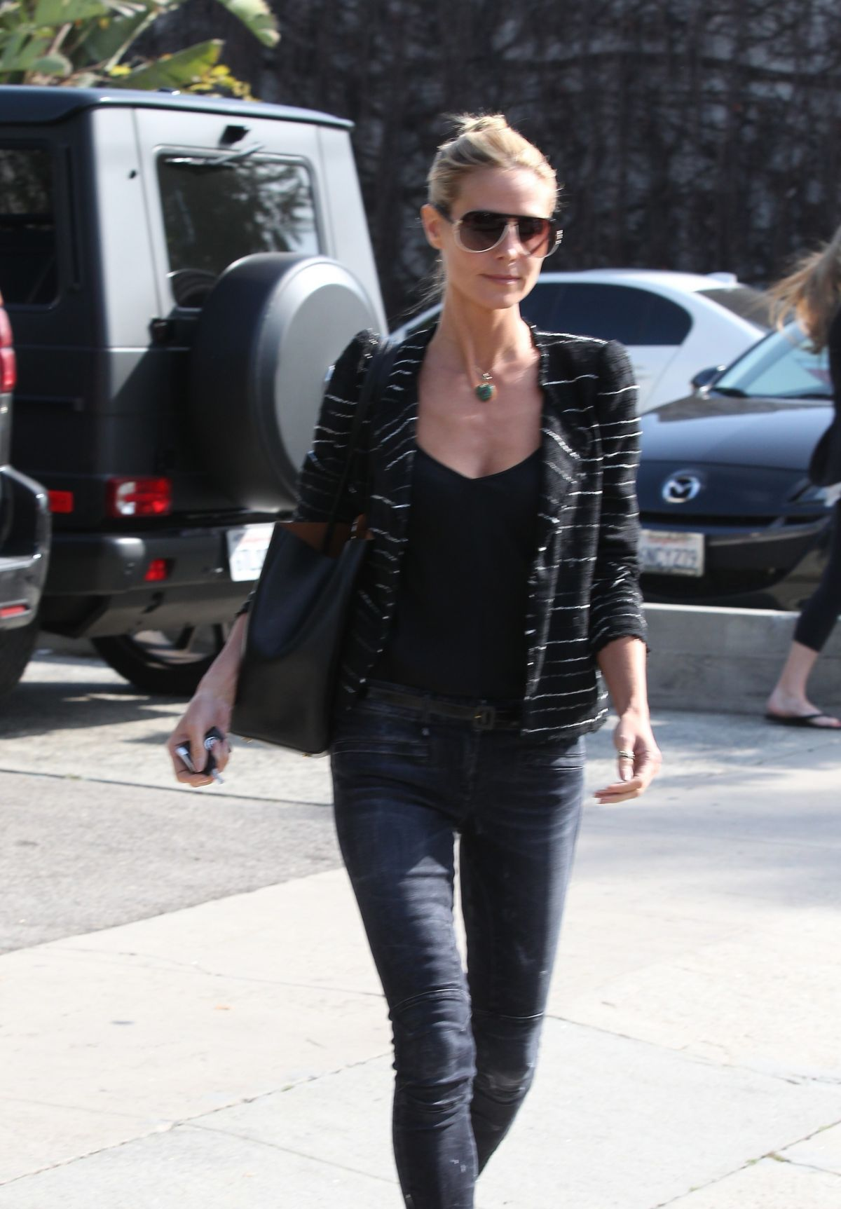 HEIDI KLUM Out and About in Los Angeles 0502