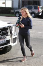 HILARY DUFF in Tight Jeans Out and About in Los Angeles 1802