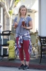 HILARY DUFF Leaves LA Conversation in West Hollywood 1602