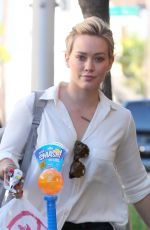 HILARY DUFF Out and About in Los Angeles 0902