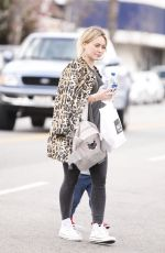 HILARY DUFF Out and About in West Hollywood 2302