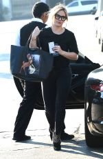 HILARY DUFF Out in West Hollywood 1702