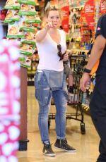 HILARY DUFF Shopping at Ralph