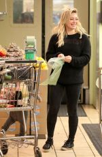 HILARY DUFF Shopping at Whole Foods in Beverly Hills 2702