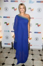 HOLLY VALANCE at British Asian Trust Dinner in London