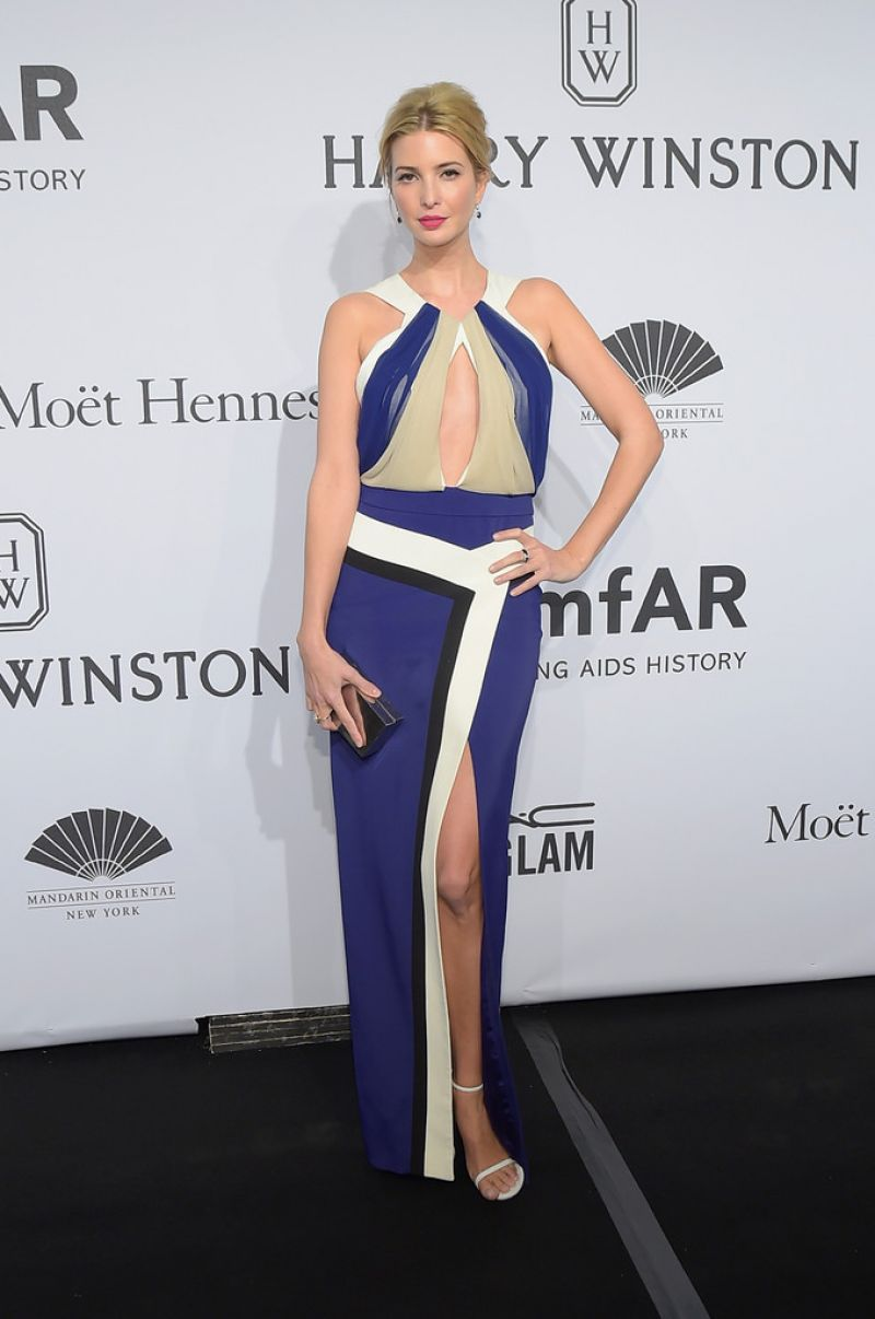 IVANKA TRUMP at 2015 Amfar Gala in New York - HawtCelebs - HawtCelebs Ivanka Trump