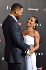 JADA PINKETT SMITH at Focus Premiere in Hollywood