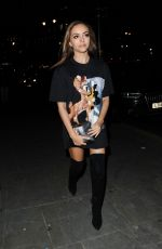 JADE THIRWALL Arrives at Me Hotel for PPQ Runway Show