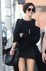 JAIMIE ALEXANDER Out and About in West Hollywood 0302