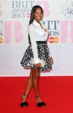 JAMELIA at Brit Awards 2015 in London