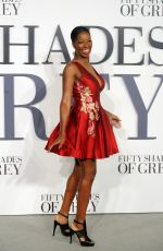 JAMELIA at Fifty Shades of Grey Premiere in London