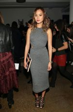 JAMIE CHUNG at Cushnie et Ochs Fashion Show in New York