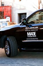 JAMIE CHUNG at Made Fashion Week Presents: Lexus Street Style in New York