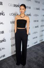 JAMIE CHUNG at Vanity Fair and L'Oreal Paris D.J. Night Benefit in Los Angeles