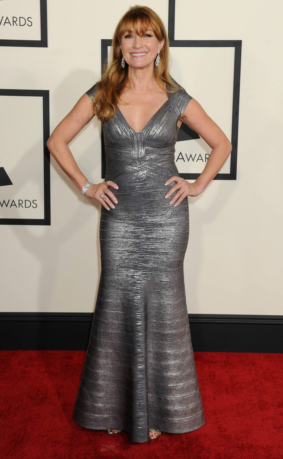 JANE SEYMOUR at 2015 Grammy Awards in Los Angeles