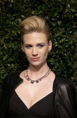 JANUARY JONES at Chanel and Charles Finch Pre-oscar Dinner in Los Angeles