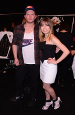 JENNETTE MCCURDY at August Getty Fashion Show in New York