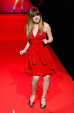 JENNETTE MCCURDY at Go Red for Women Ded Dress Collection 2015 in New York