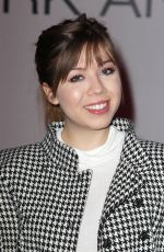 JENNETTE MCCURDY at Mark & Estel Fashion Show in New York