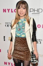 JENNETTE MCCURDY at NY Fashion Week Kickoff with Fifty Shades of Fashion Event in New York