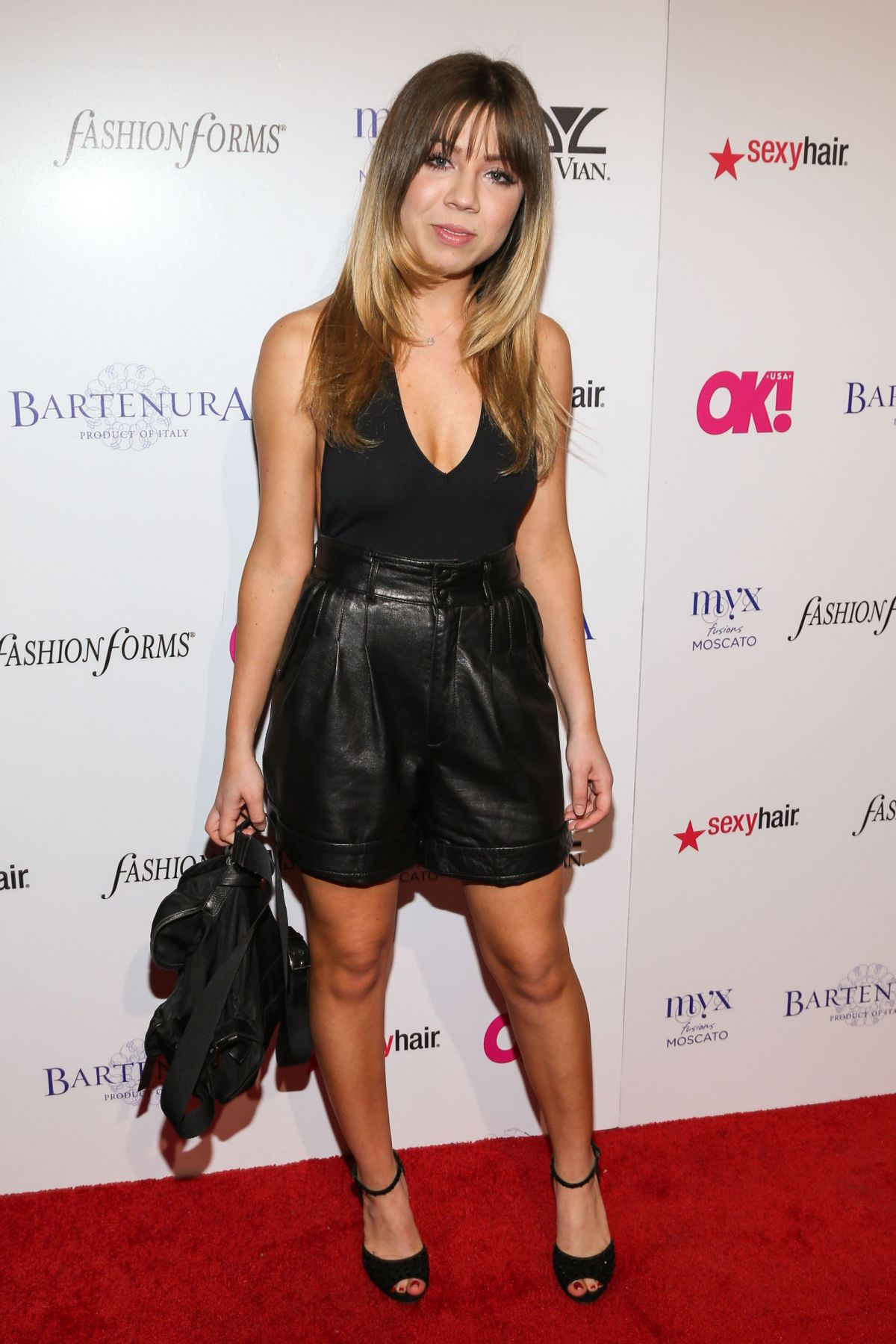 JENNETTE MCCURDY at OK! Magazine Pre-oscar Party in Hollywood