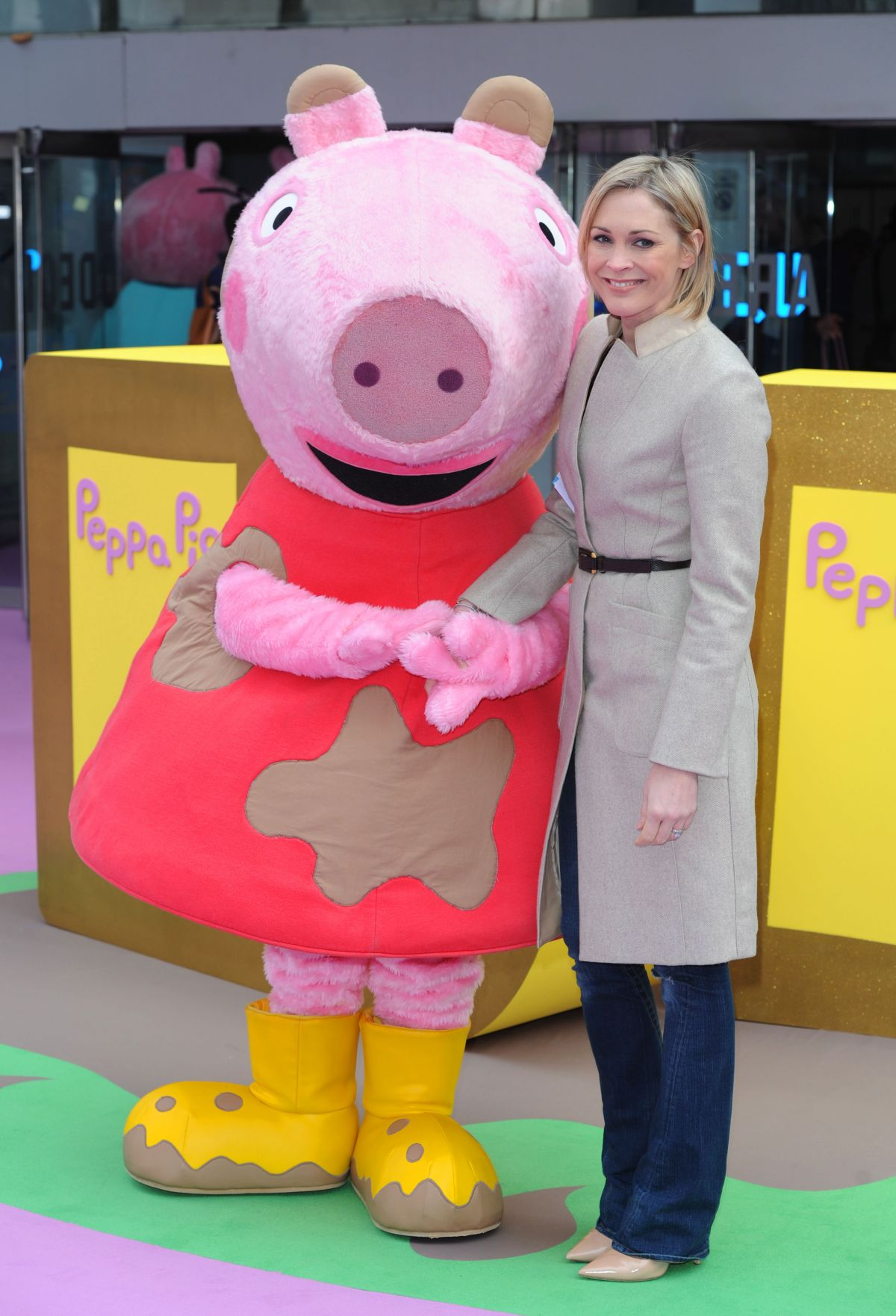 JENNI FALCONER at Peppa Pig: The Golden Boots Premiere in London
