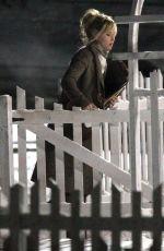 JENNIFER LAWRENCE on the Set of Joy in Boston 1902
