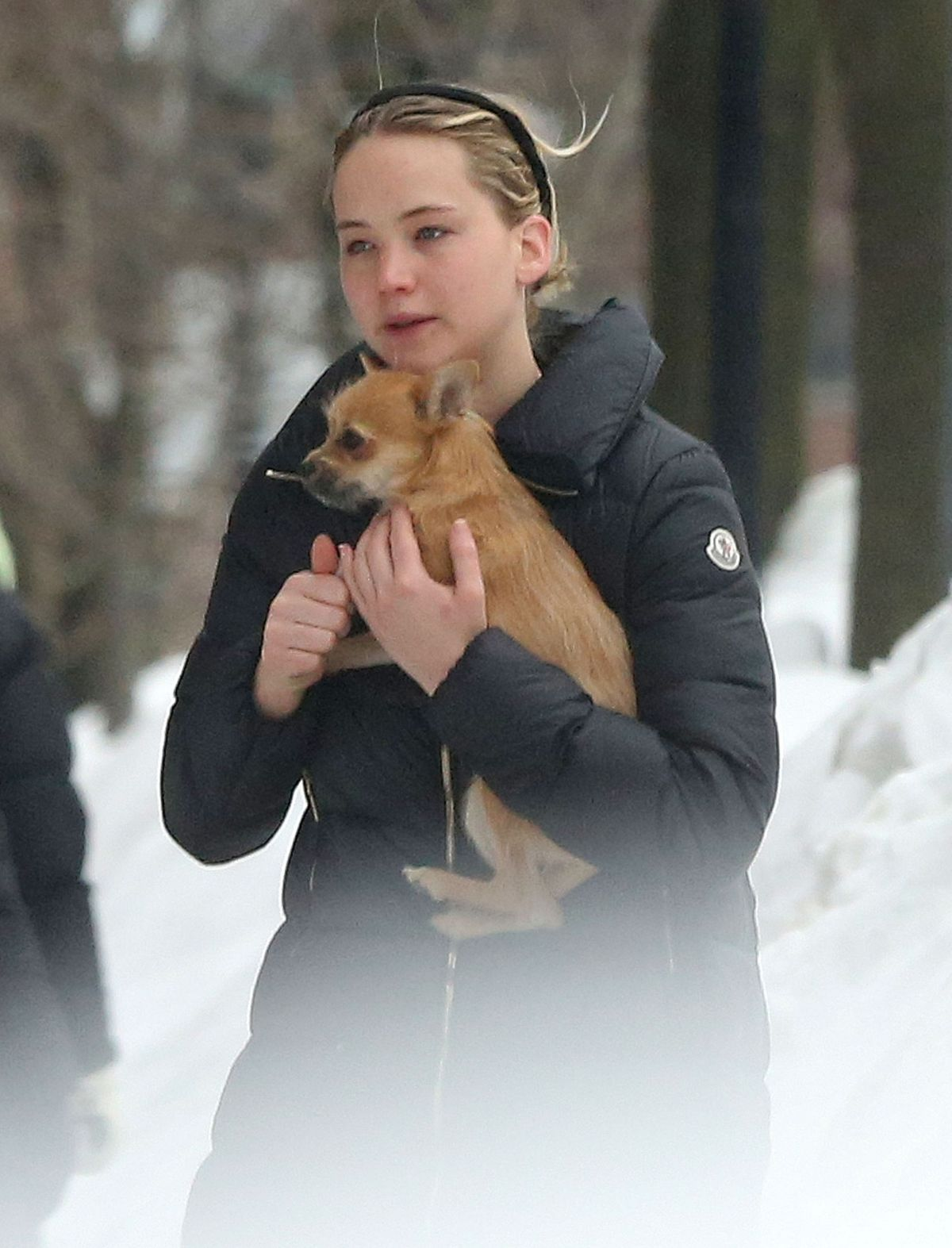 JENNIFER LAWRENCE Out and About in Boston