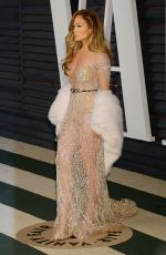 JENNIFER LOPEZ at Vanity Fair Oscar Party in Hollywood