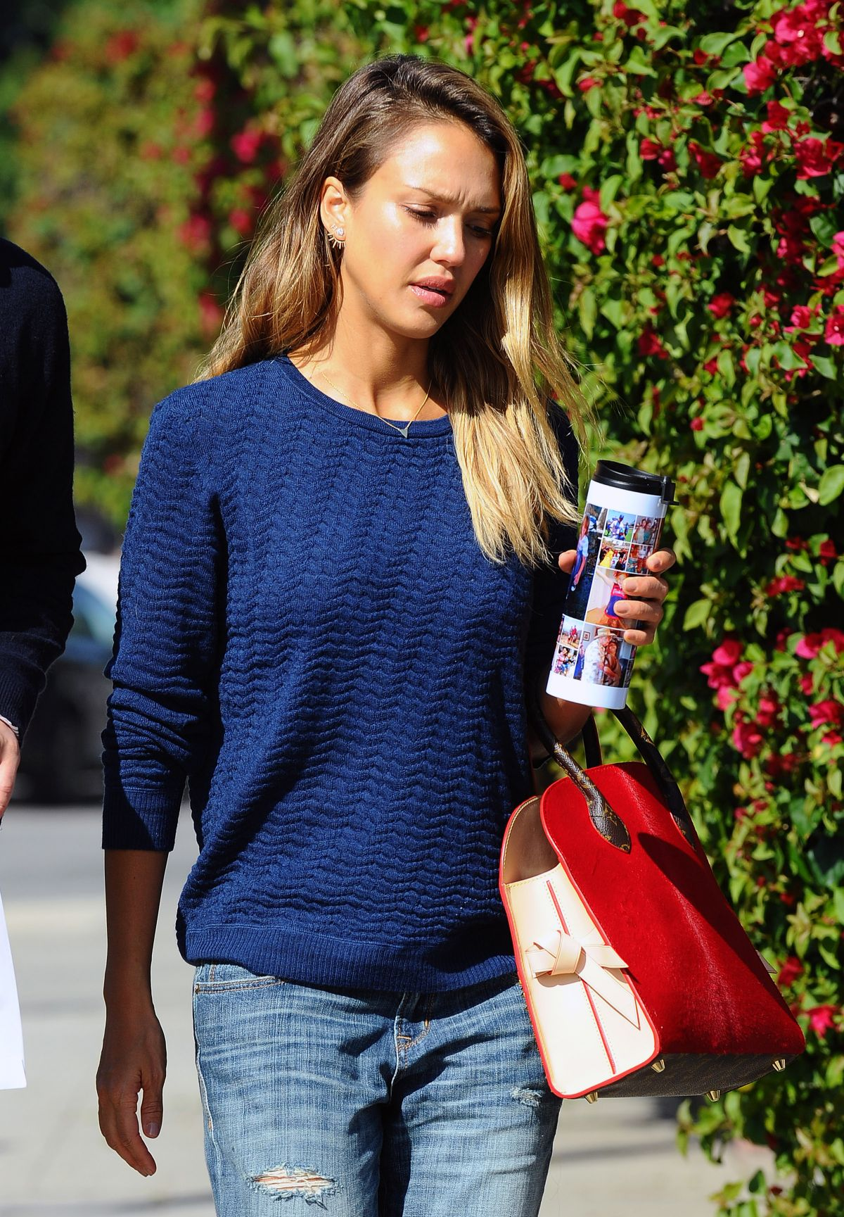 JESSICA ALBA in Jeans Out and About in Beverly Hills 0502