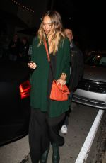 JESSICA ALBA Night Out in West Hollywood 1802