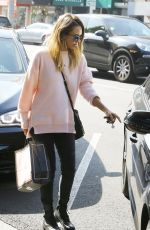 JESSICA ALBA Out and About in Beverly Hills 0302