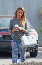 JESSICA ALBA Out and About in Los Angeles 2002
