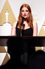 JESSICA CHASTAIN at 2015 Academy Awards Oscar Week Celebrates Foreign Language Films