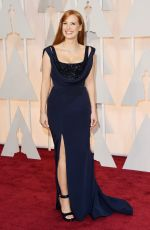 JESSICA CHASTAIN at 87th Annual Academy Awards at the Dolby Theatre in Hollywood