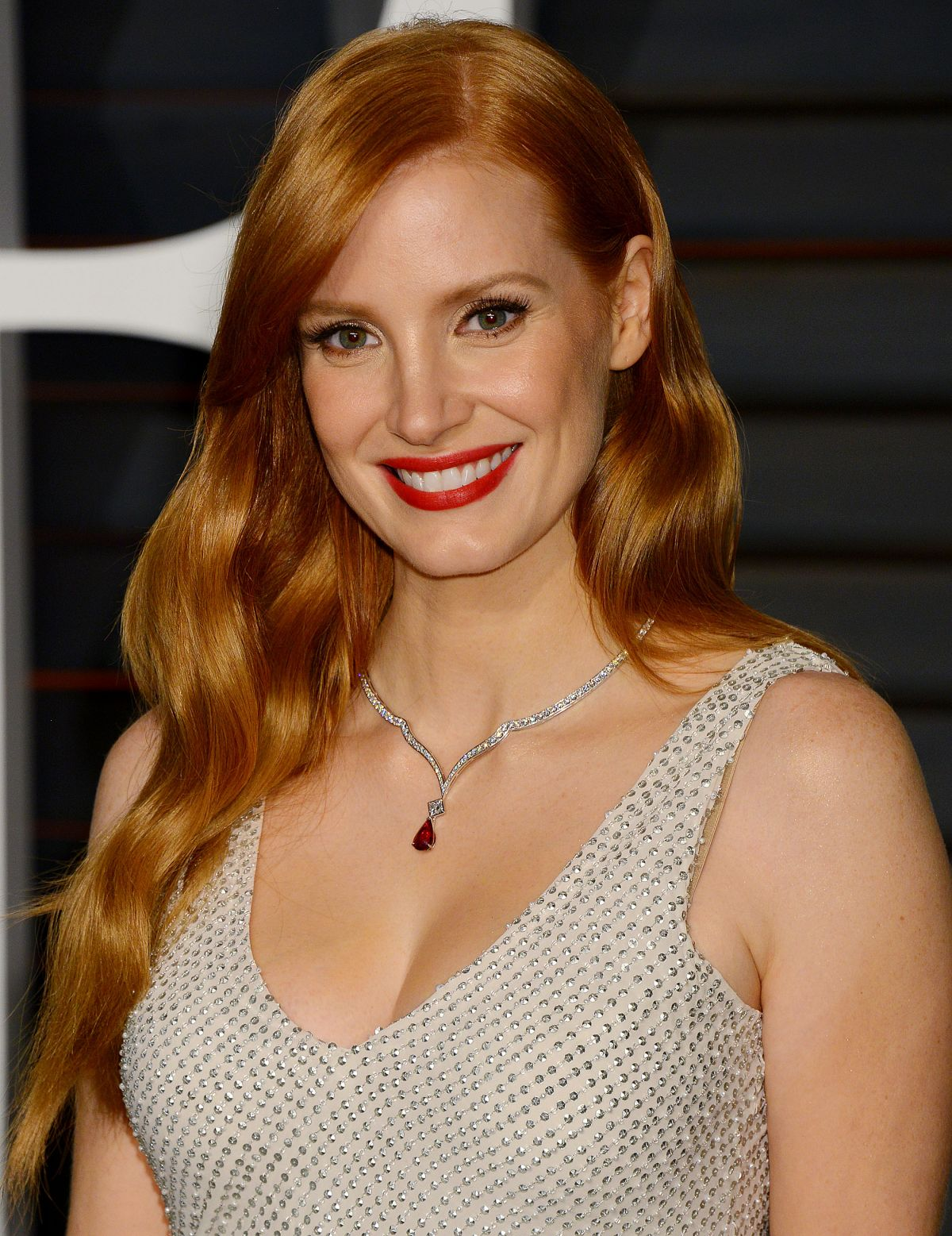 JESSICA CHASTAIN at Vanity Jessica Chastain