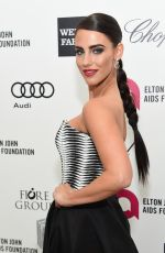 JESSICA LOWNDES at Elton John Aids Foundation's Oscar Viewing Party