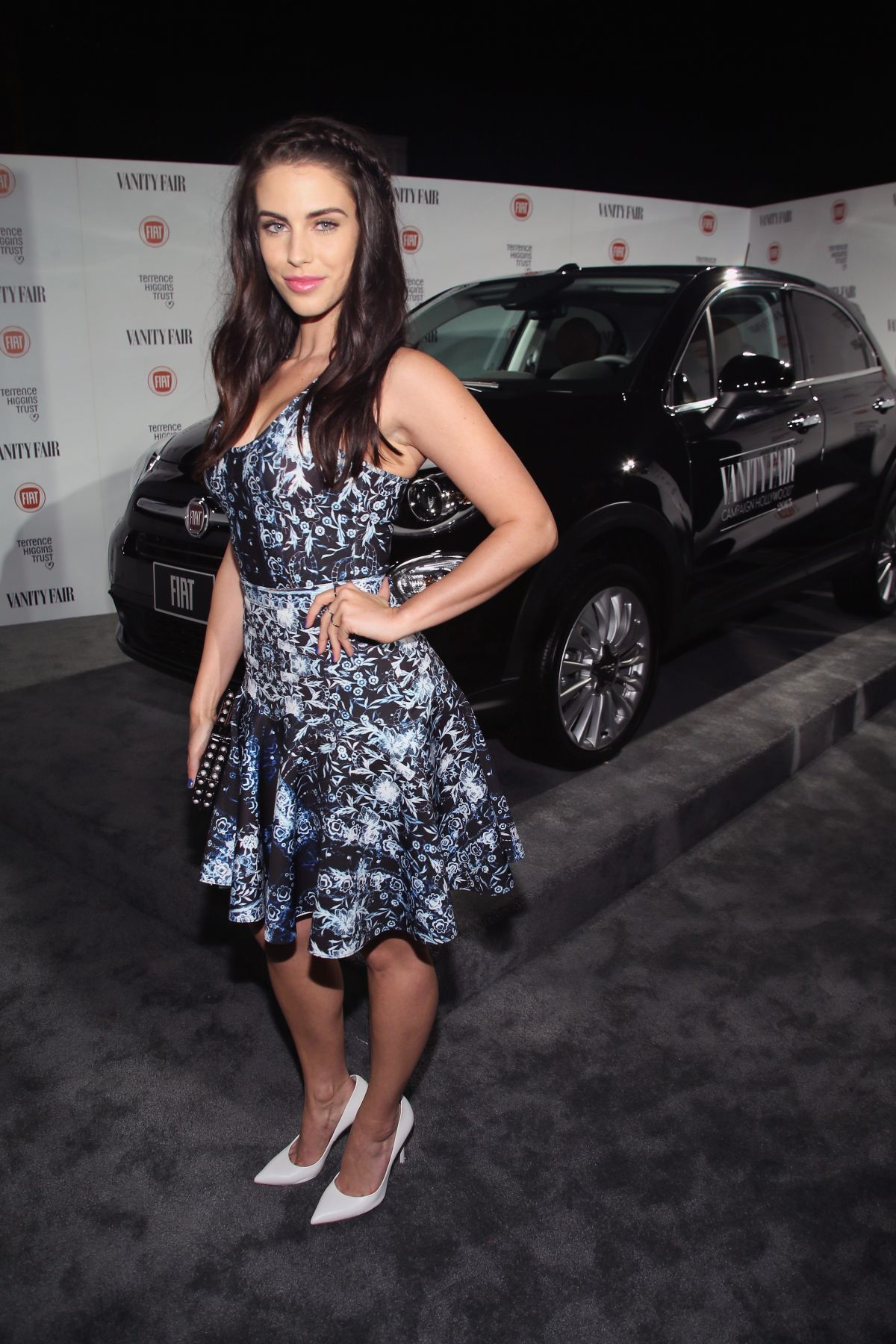 JESSICA LOWNDES at Vanity Fair and Fiat Celebration of Young Hollywood in Los Angeles
