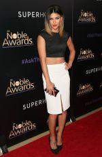 JESSICA SZOHR at 2015 Noble Awards in Beverly Hills