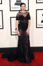 JESSIE J at 2015 Grammy Awards in Los Angeles